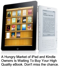 iPad and Kindle will sell six million units this year